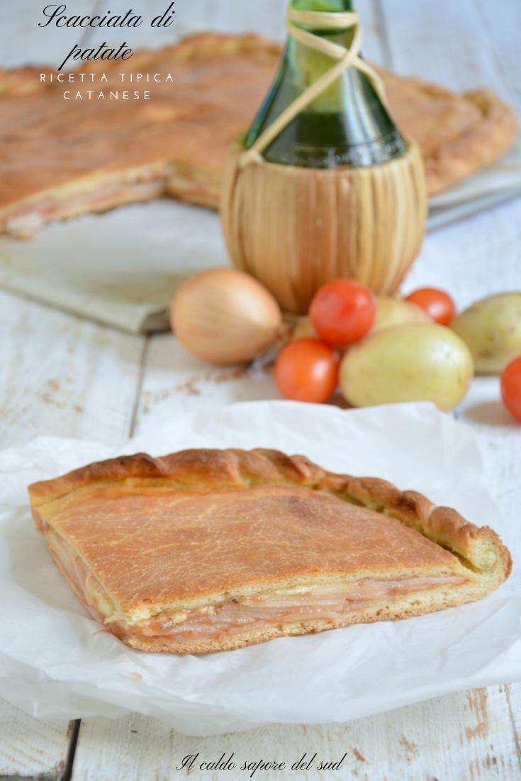 Scacciata di patate ricetta tradizionale catanese