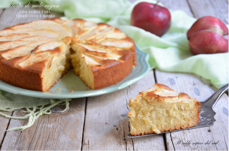 Torta di mele vegan con fruttosio buonissima e soffice