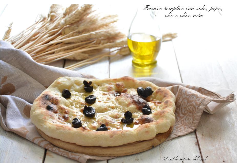 Pizza focaccia Facci di vecchia