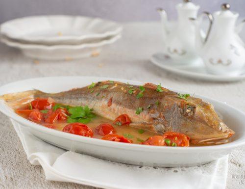 Pesce gallinella in umido facile e veloce