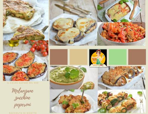 Melanzane zucchine e peperoni tante ricette facili e saporite