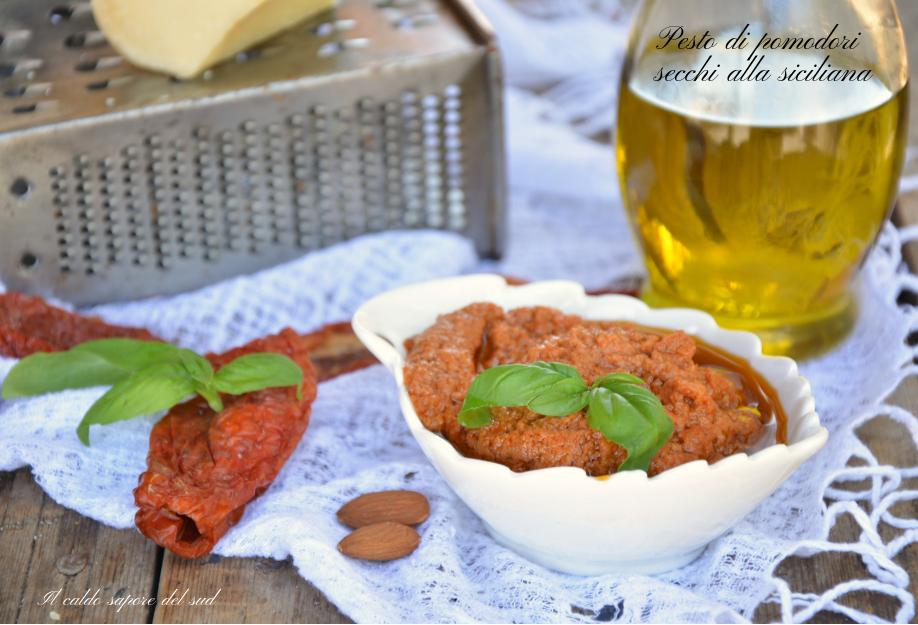 Pesto di pomodori secchi alla siciliana