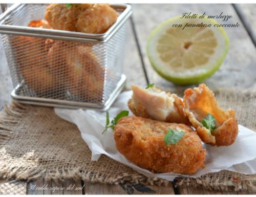Filetti di merluzzo con panatura croccante