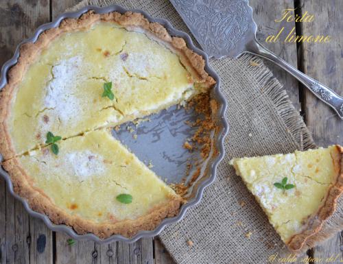 Torta al limone ricetta francese facile