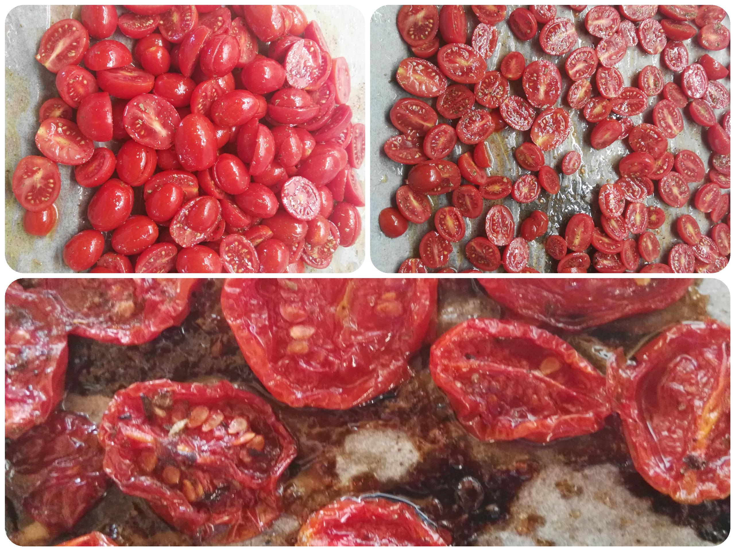 Pomodori datterini confit al forno