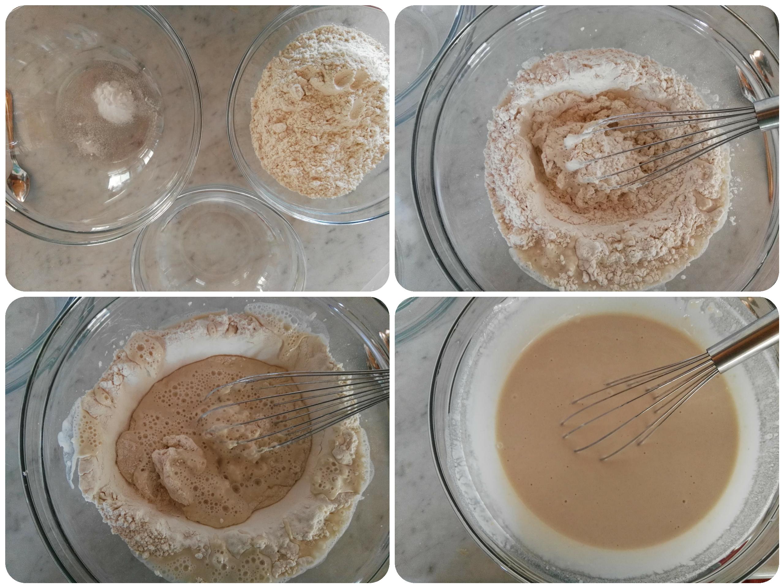 Pastella all'acqua senza uova per fritti perfetti