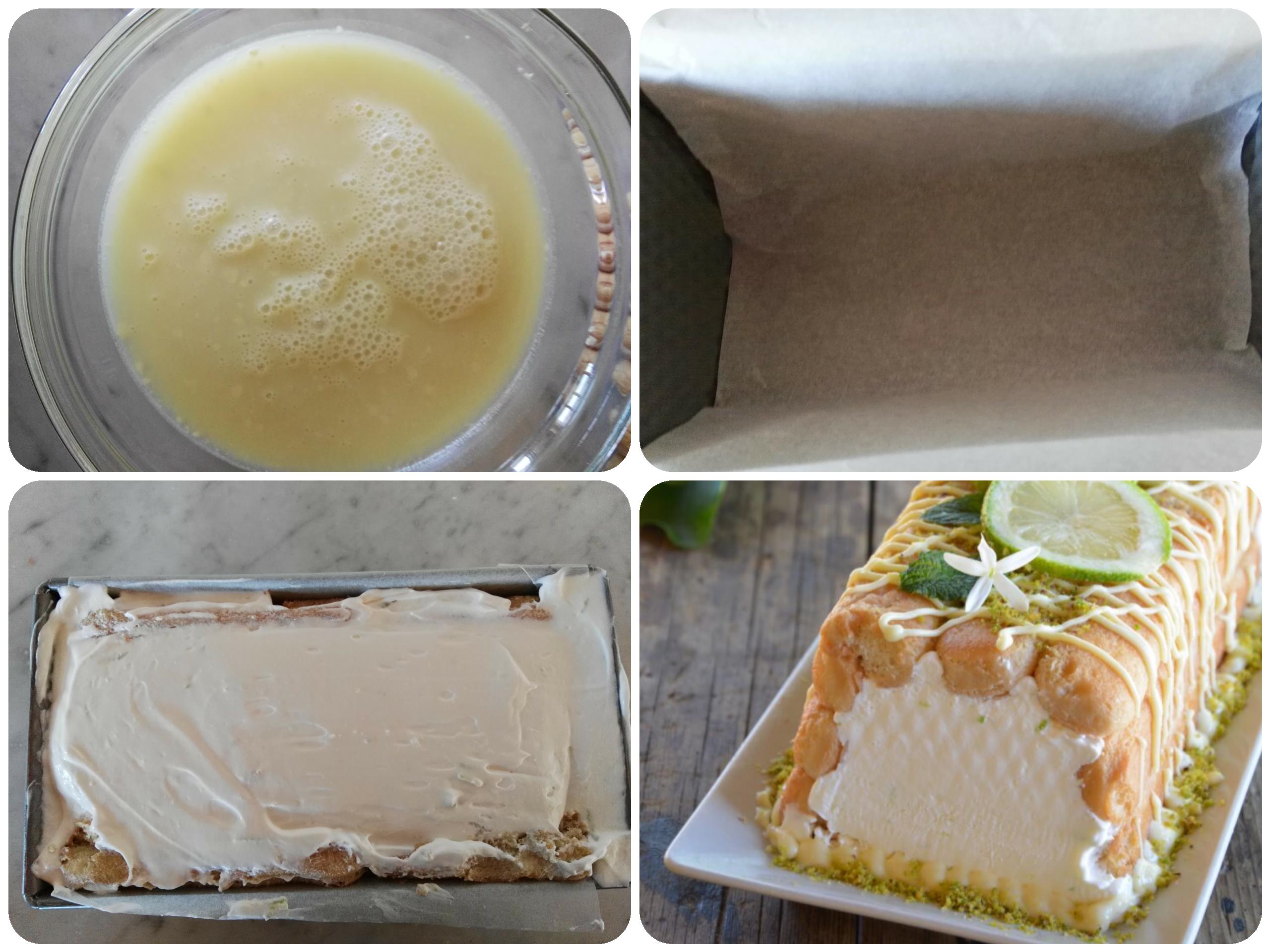 Mattonella fredda al limone ricetta facile