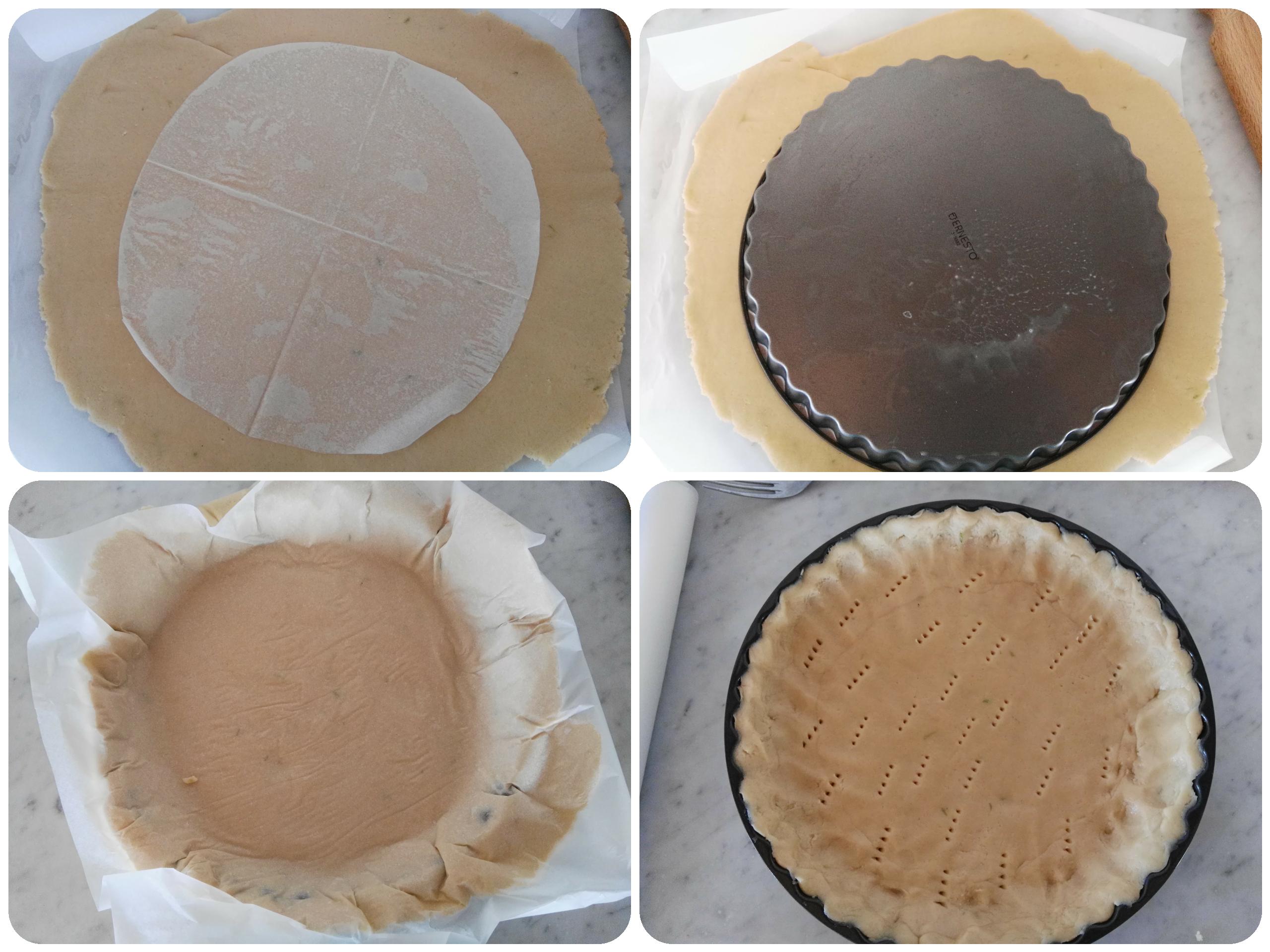 Crostata di crema e fichi profumata alla cannella