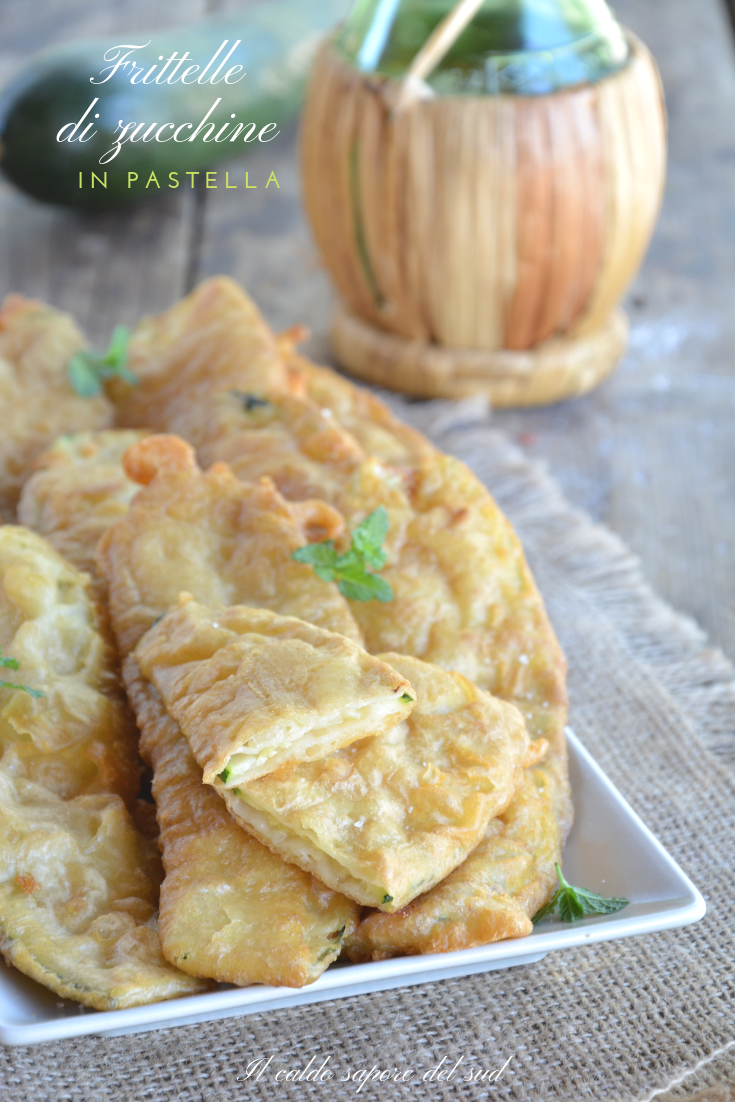 Frittelle di zucchina in pastella ricetta facile
