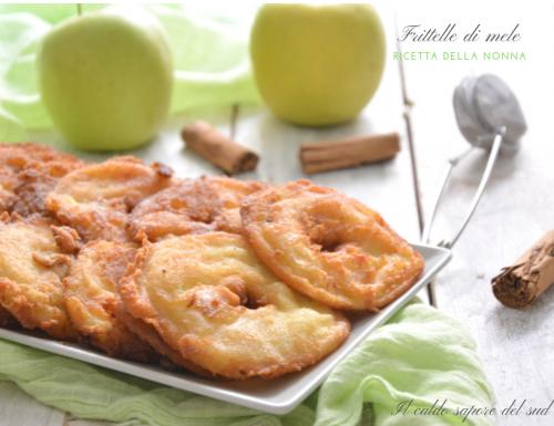 Frittelle di mela ricetta della nonna