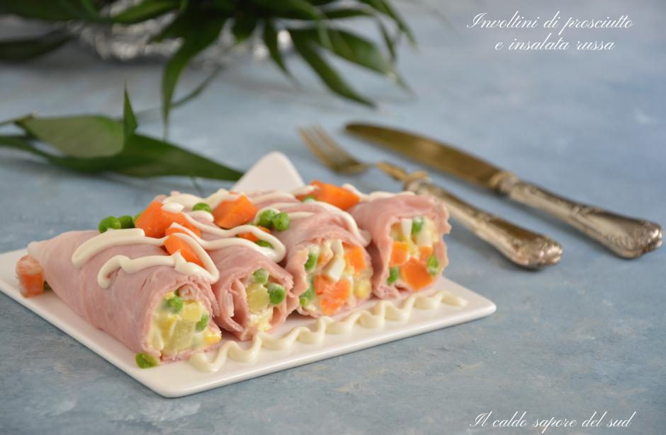 Involtini di prosciutto e insalata russa (1)