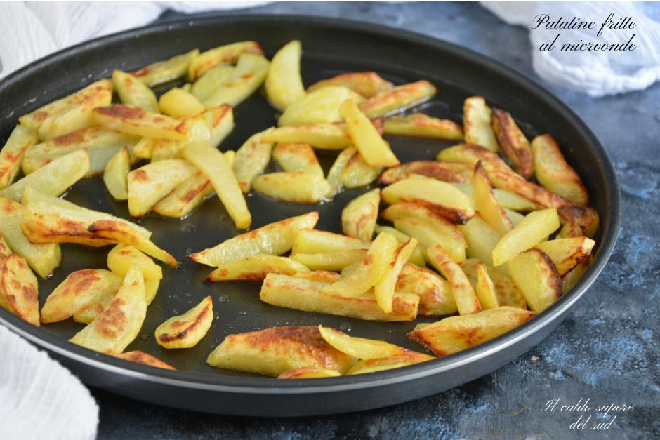 Patatine fritte al microonde