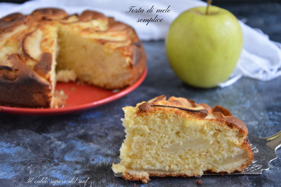 Torta di mele semplice ricetta della nonna