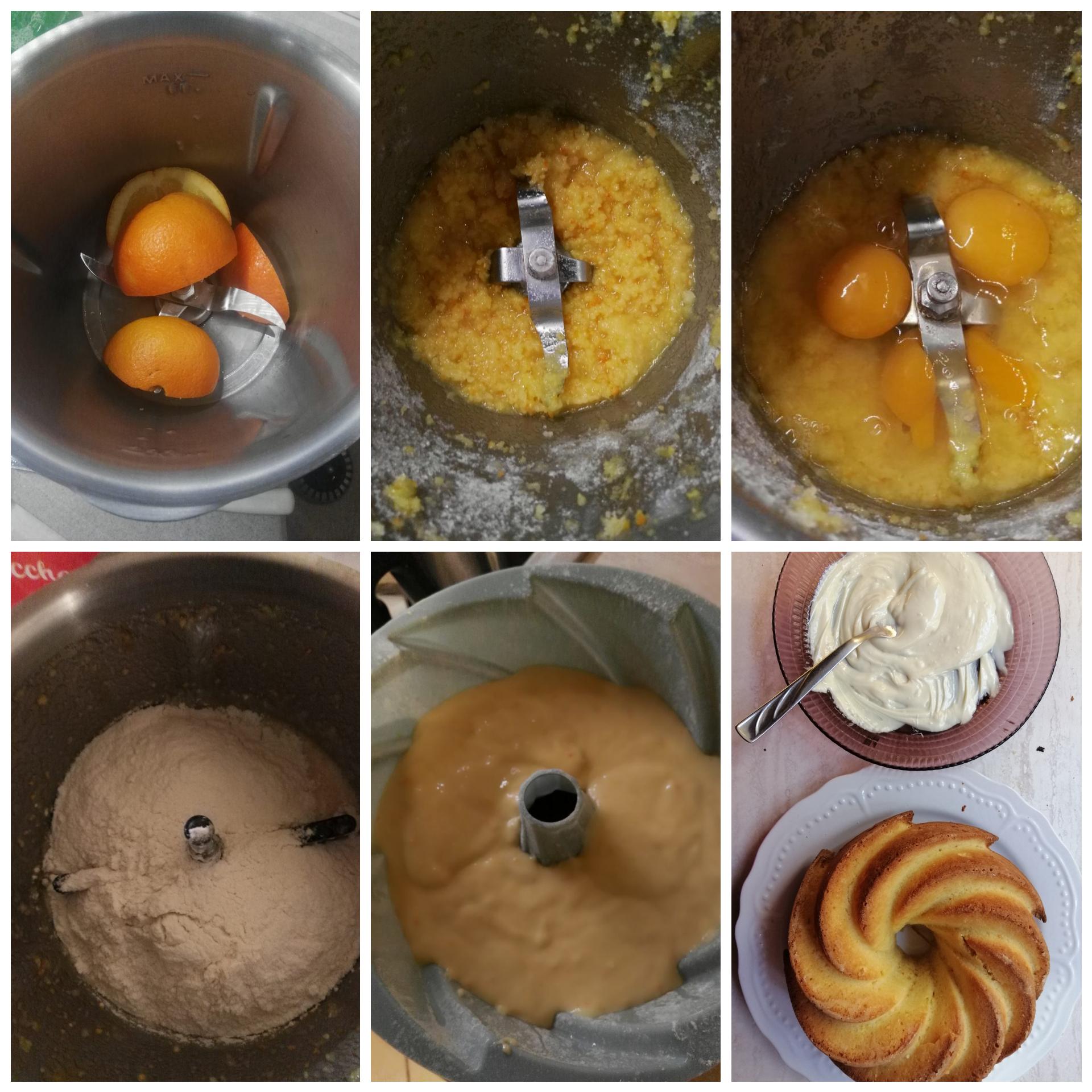 Pan d'arancio al cioccolato bianco