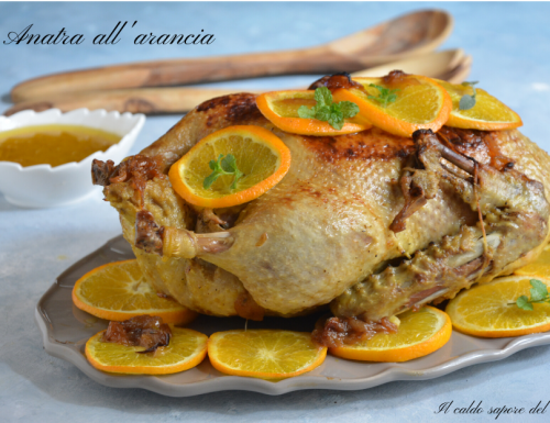 Anatra all'arancia ricetta facile