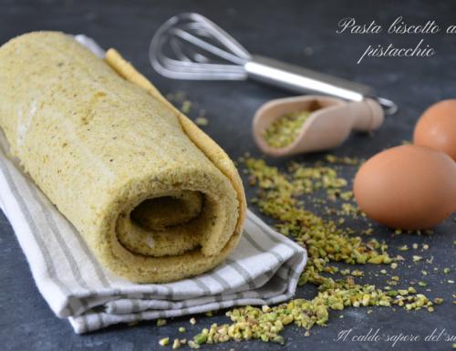 Pasta biscotto al pistacchio