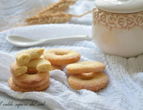 Biscotti con pasta frolla all'olio d'oliva  semplicissimi
