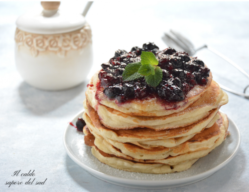 Pancakes senza burro e uova