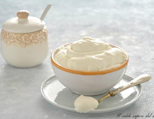 Crema al latte senza uova facilissima