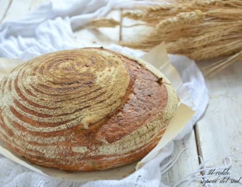 Pane di timilia fatto in casa con lievito madre