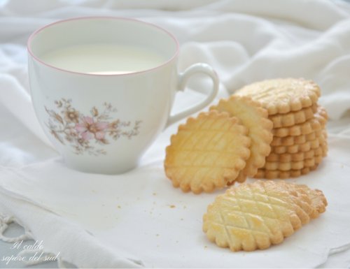 Galette bretonne biscotti francesi al burro salato