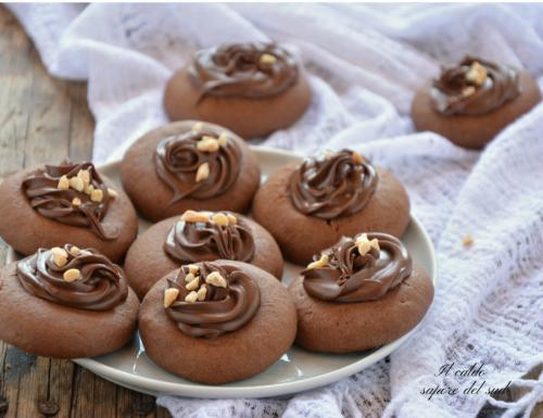 Biscotti alla nutella o nutellotti con solo tre ingredienti