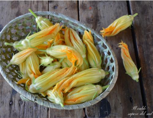 Come pulire i fiori di zucca e come sceglierli