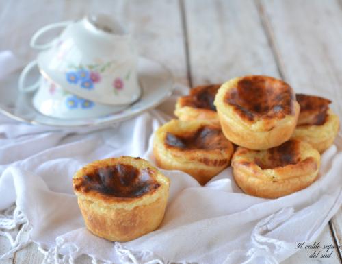 Pasteis de nata ricetta portoghese