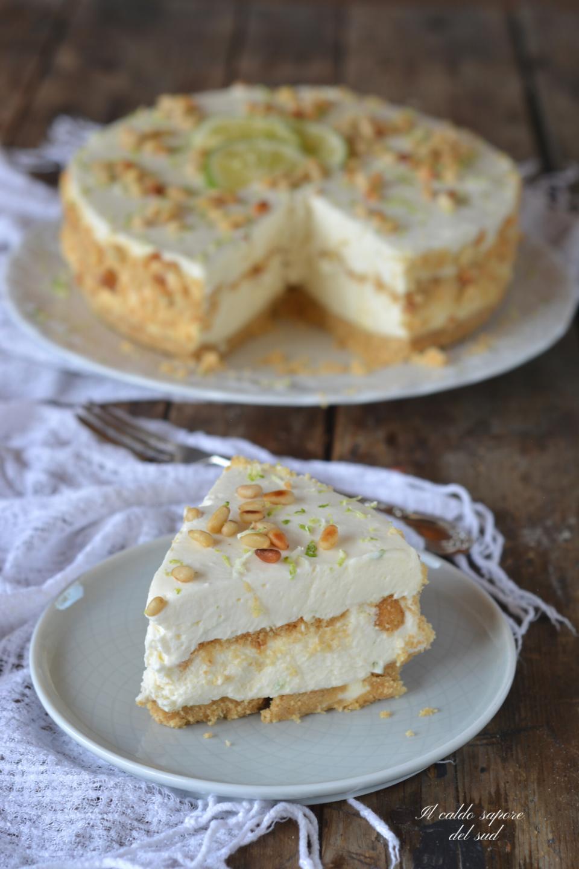 Torta della nonna cheesecake