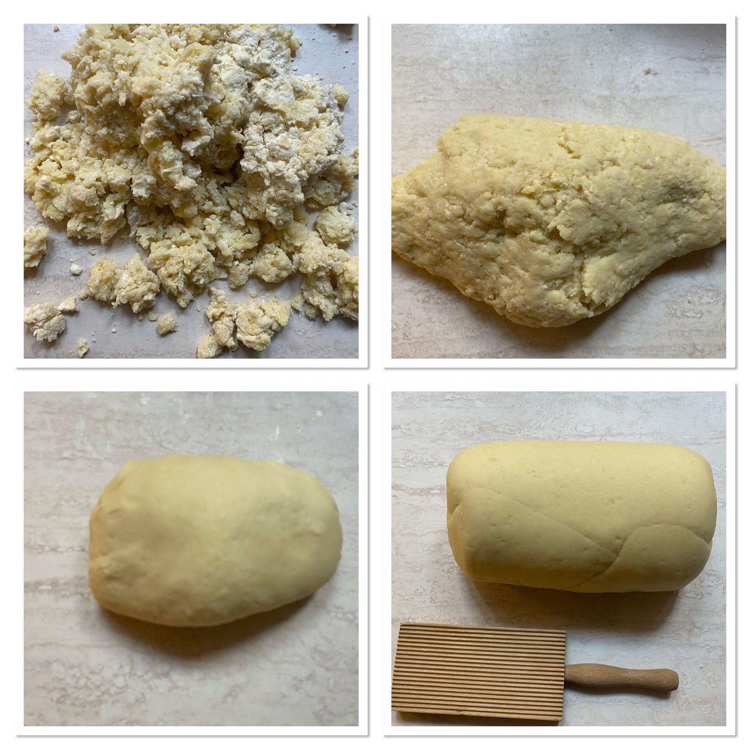 Gnocchi al latte e farina senza patate