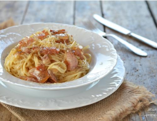 Spaghetti alla carbonara ricetta originale romana