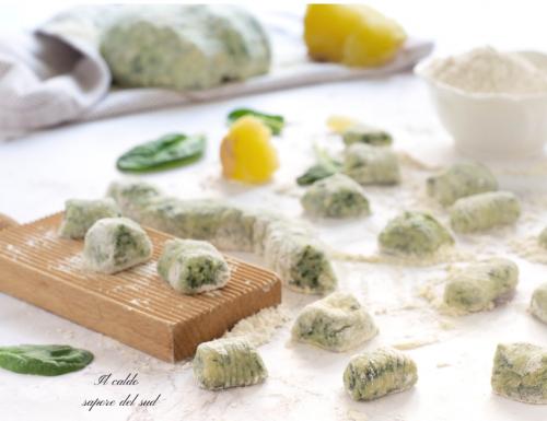 Gnocchi verdi di spinaci e patate…
