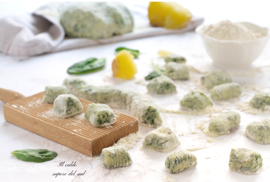 Gnocchi verdi di spinaci e patate