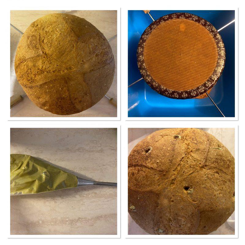 panettone al pistacchio ricetta facile