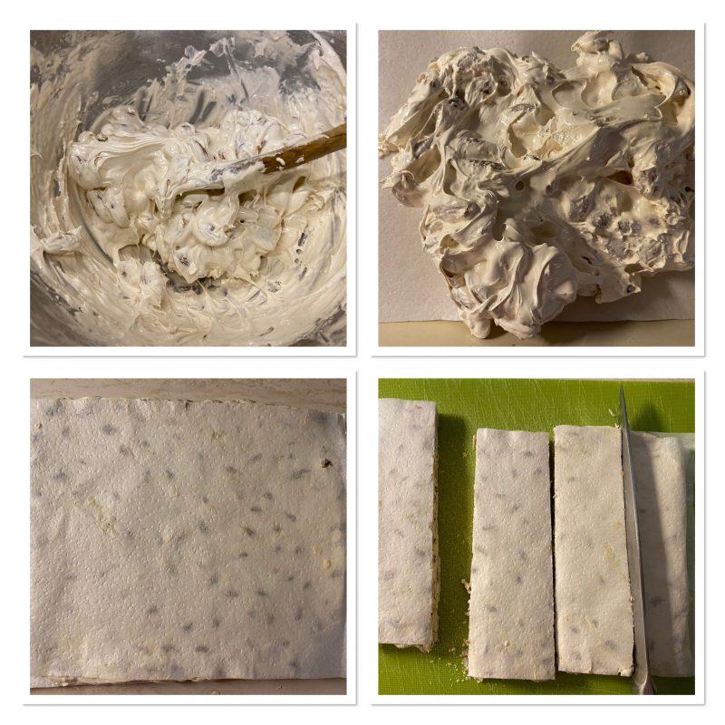 Torrone bianco morbido fatto in casa
