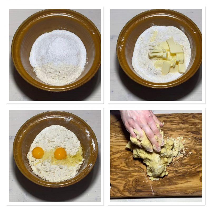 Crostata pistacchio ricotta e cioccolato bianco