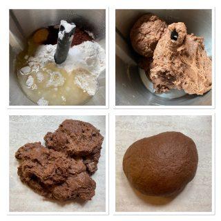 Chiacchiere al cacao senza uova e burro