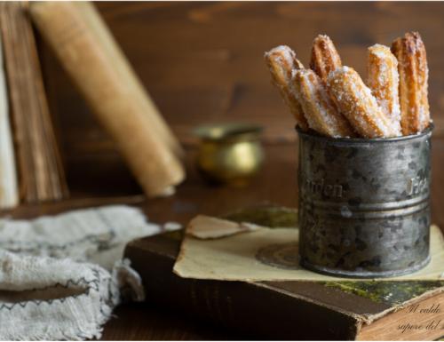 Churros spagnoli croccanti ricetta originale senza uova