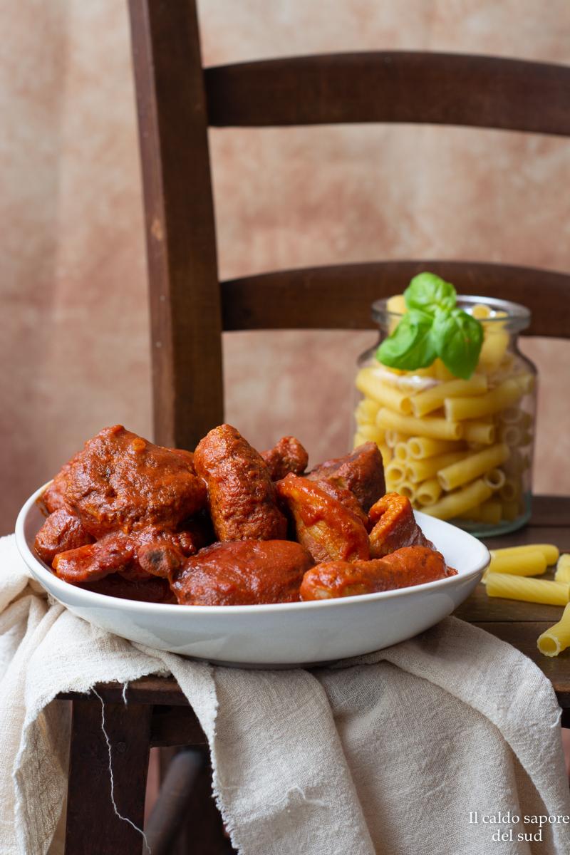 Carne al sugo alla catanese