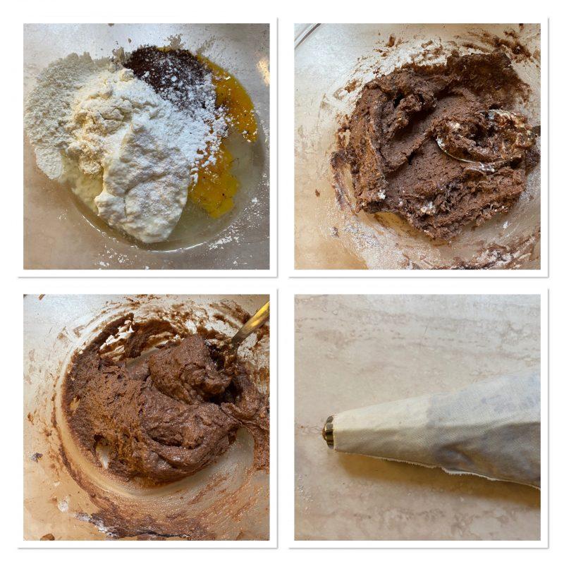Castagnole di ricotta al cioccolato