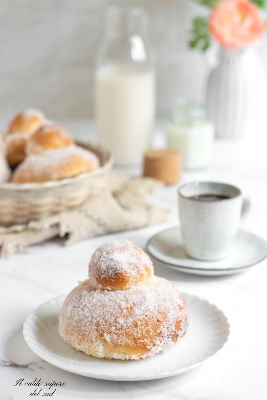 Brioche con lo zucchero catanese