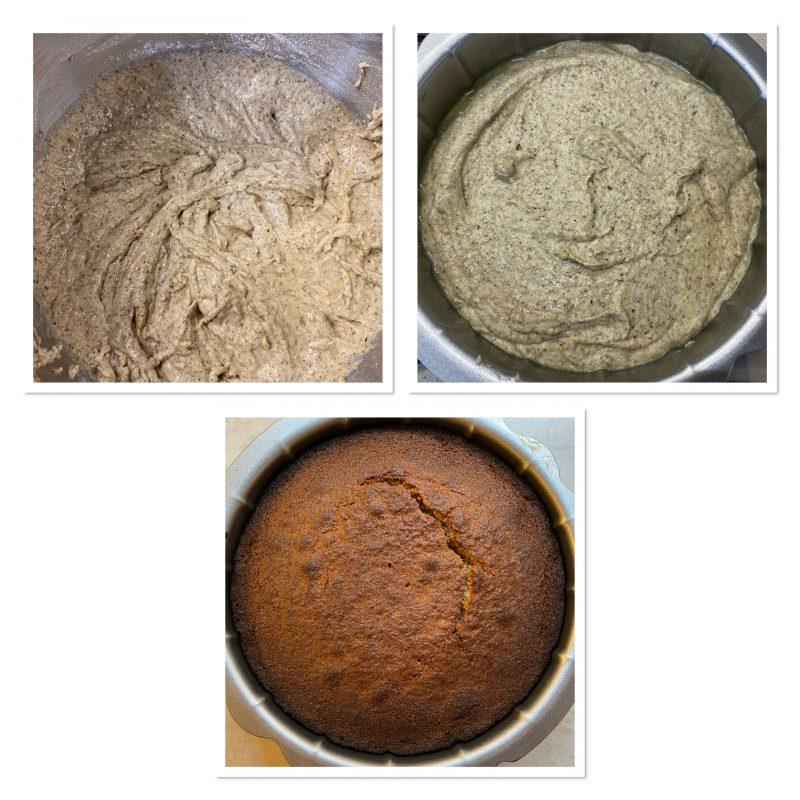Torta al grano saraceno e mandorle senza glutine