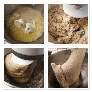 Pan bauletto con farina integrale fatto in casa