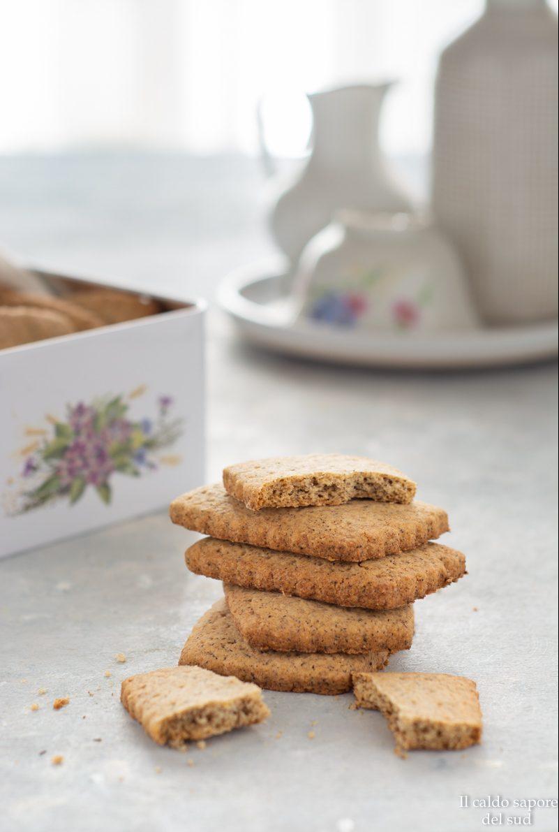 Biscotti senza glutine al grano saraceno