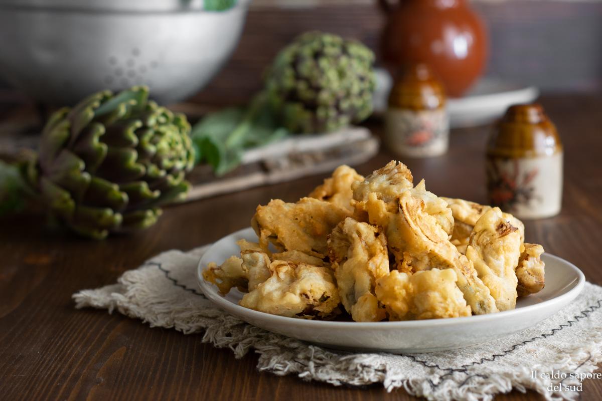 Cuori di carciofo fritti senza glutine