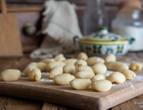Gnocchi senza patate all'acqua e farina