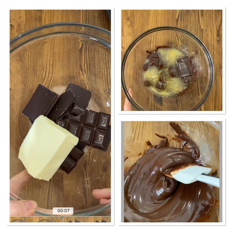 Crostata morbida al cioccolato fondente e nocciole