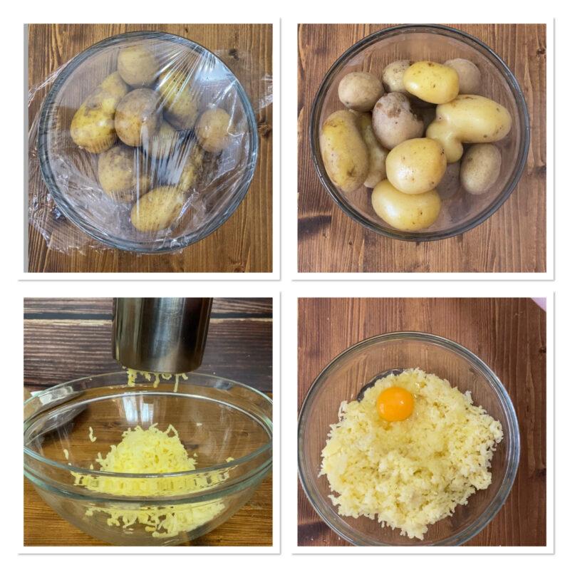 focaccine di patate