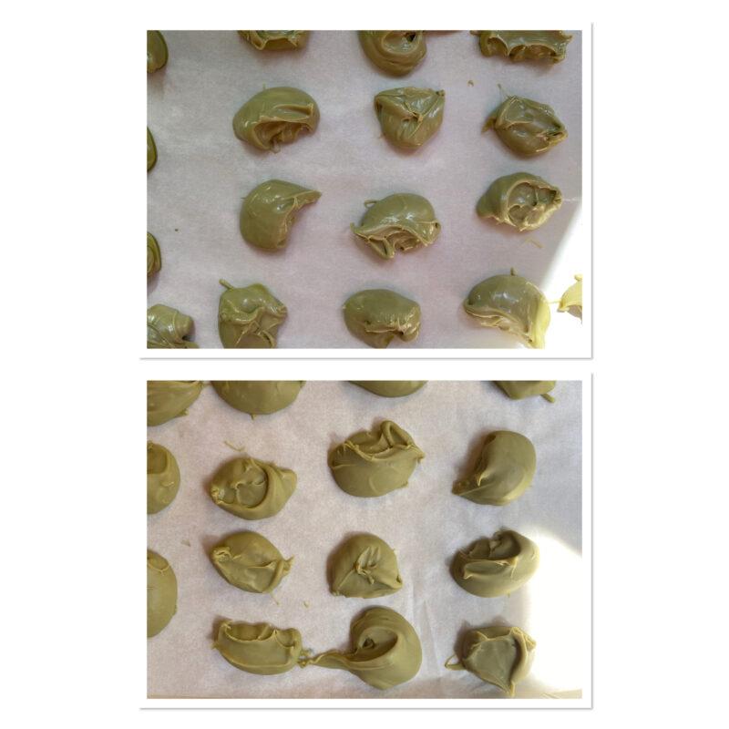 Muffins al pistacchio dal cuore cremoso