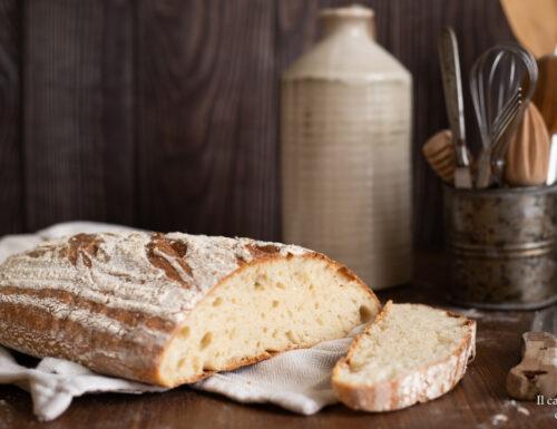 Pane facile con farina di farro e lievito di birra